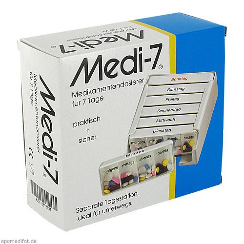 MEDI 7 MEDIKAMENTEN DOS 7T, 1 ST, Hans-H.Hasbargen GmbH & Co. KG