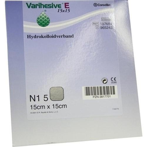 VARIHESIVE E HKV hydroaktiv 15X15CM 965243, 5 ST, Convatec (Germany) GmbH