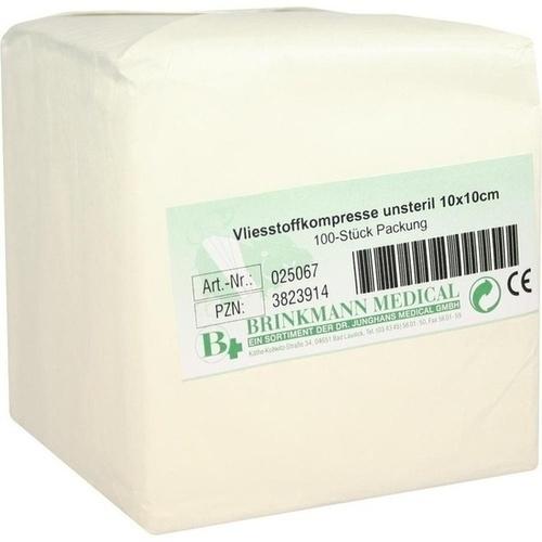 VLIESSTOFF KOM BRI 10X10, 100 ST, Brinkmann Medical Ein Unternehmen der Dr. Junghans Medical GmbH