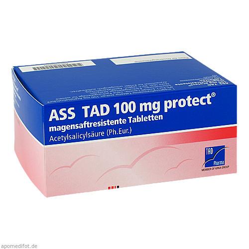 ASS TAD 100mg protect, 100 ST, TAD Pharma GmbH