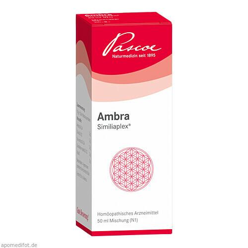 AMBRA SIMILIAPLEX, 50 ML, Pascoe pharmazeutische Präparate GmbH