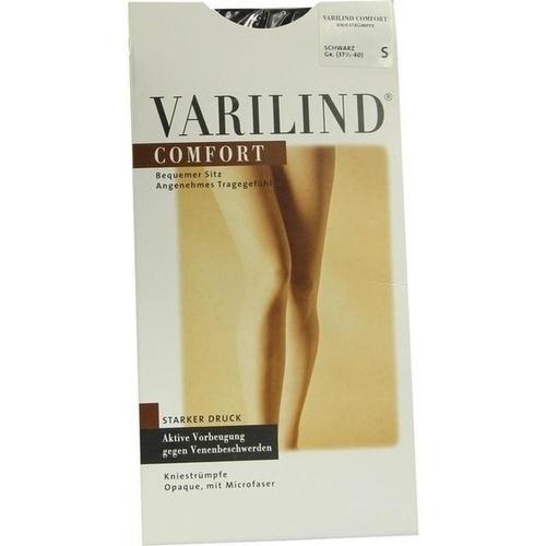 Varilind Comfort Kniestr. schwarz S, 2 ST, Paracelsia Pharma GmbH