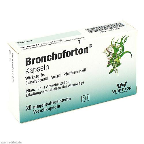 BRONCHOFORTON magensaftresistente Kapseln, 20 ST, Sanofi-Aventis Deutschland GmbH GB Selbs