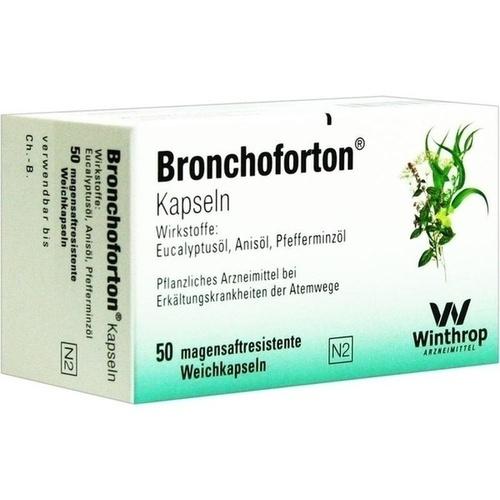 BRONCHOFORTON magensaftresistente Kapseln, 50 ST, Sanofi-Aventis Deutschland GmbH GB Selbs