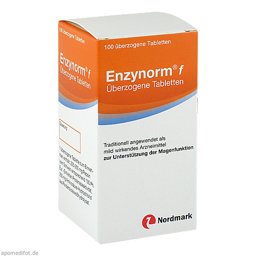 Enzynorm f, 100 ST, Nordmark Arzneimittel GmbH & Co. KG