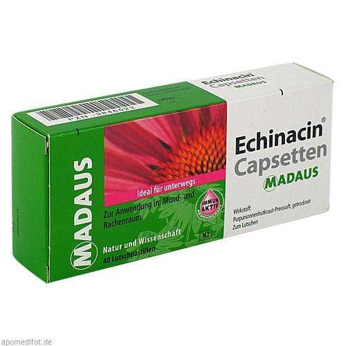 ECHINACIN CAPSETTEN, 40 ST, Meda Pharma GmbH & Co. KG
