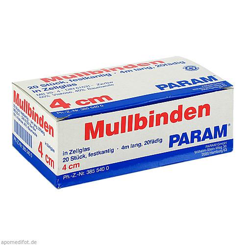 MULLBINDE 4CM M CELL, 20 ST, Param GmbH