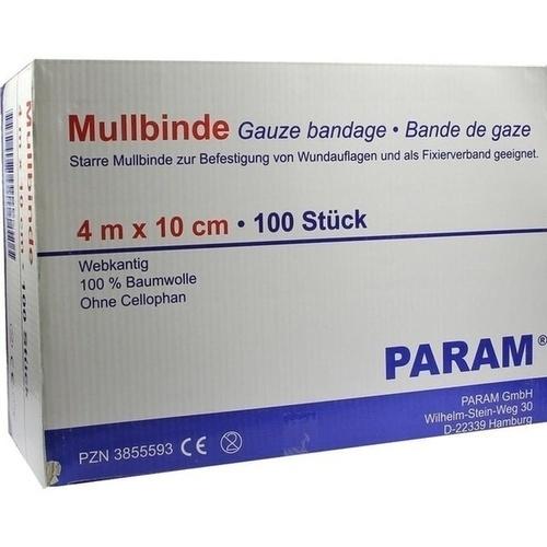 MULLBINDE 10CM O CEL, 100 ST, Param GmbH
