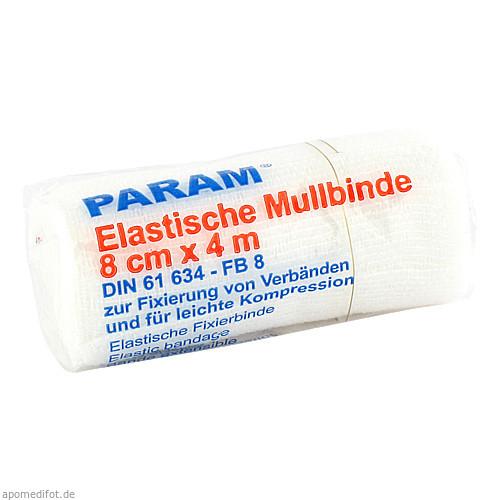 MULLBINDE ELAS 8CM M CELL, 1 ST, Param GmbH