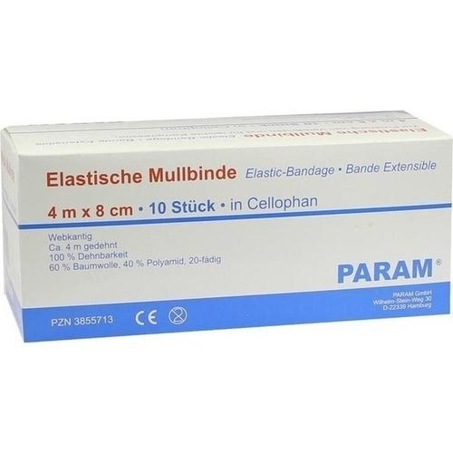 MULLBINDE ELAS 8CM M CELL, 10 ST, Param GmbH