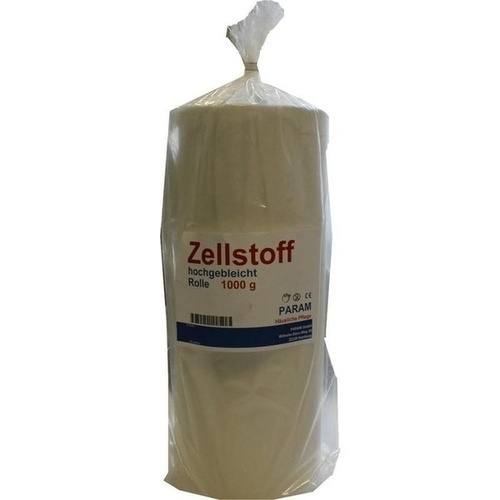 ZELLSTOFF HOCHGEBLEICHT GEROLLT, 1000 G, Param GmbH