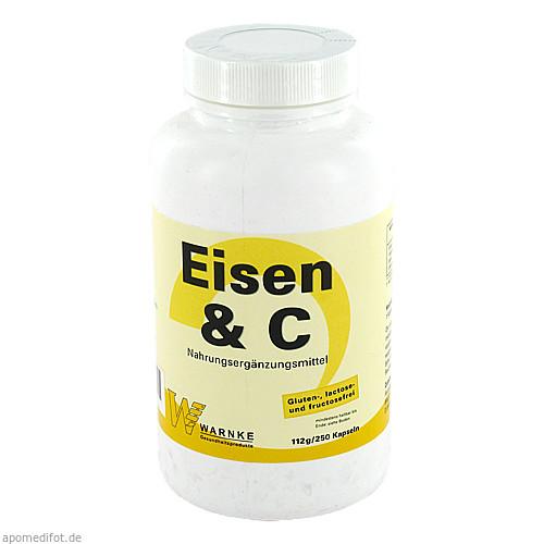 Eisen & C, 250 ST, Warnke Vitalstoffe GmbH