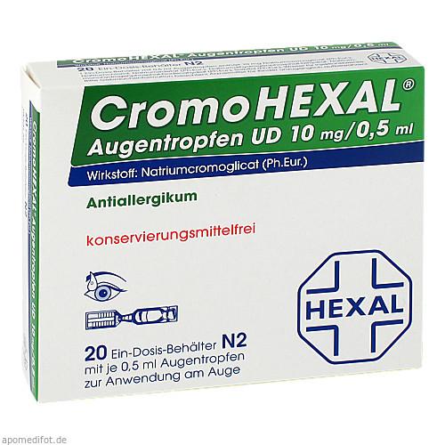 CROMOHEXAL UD EDP, 20 ST, HEXAL AG