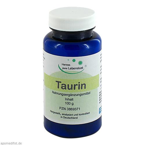 Taurin pur Pulver, 100 G, G & M Naturwaren Import GmbH & Co. KG