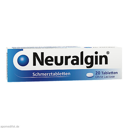 NEURALGIN, 20 ST, Dr. Pfleger Arzneimittel GmbH