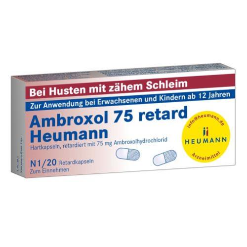 AMBROXOL 75 RETARD HEUMANN, 20 ST, Heumann Pharma GmbH & Co. Generica KG