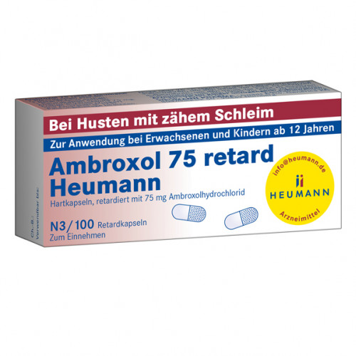 AMBROXOL 75 RETARD HEUMANN, 100 ST, Heumann Pharma GmbH & Co. Generica KG