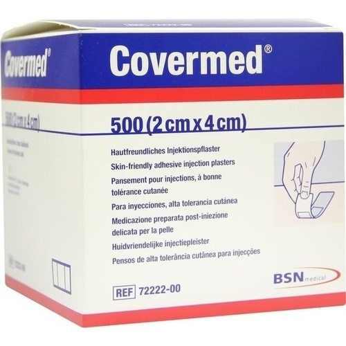 COVERMED Injektionspflaster 2x4 cm, 500 ST, BSN medical GmbH