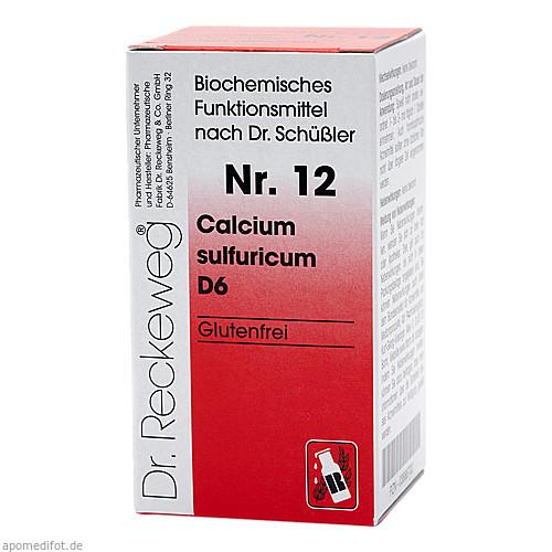 Biochemie 12 Calcium sulfuricum D6, 200 ST, Dr.Reckeweg & Co. GmbH