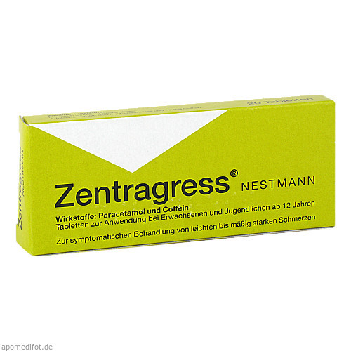 ZENTRAGRESS NESTMANN, 20 ST, Nestmann Pharma GmbH