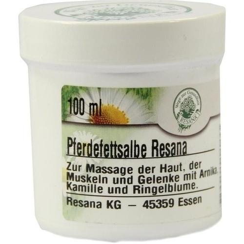 PFERDEFETTSALBE RESANA, 100 ML, Resana GmbH