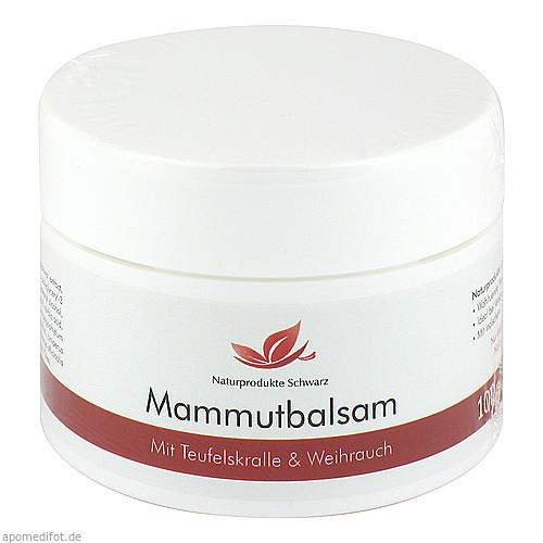 MAMMUT BALSAM Massage Balsam, 100 ML, Naturprodukte Schwarz
