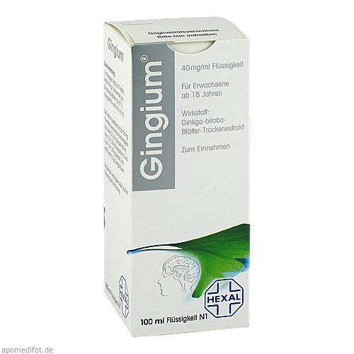 Gingium Lösung, 100 ML, HEXAL AG