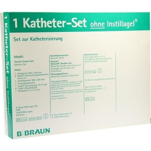 KATHETER SET O INSTILLAGEL, 1 P, B. Braun Melsungen AG