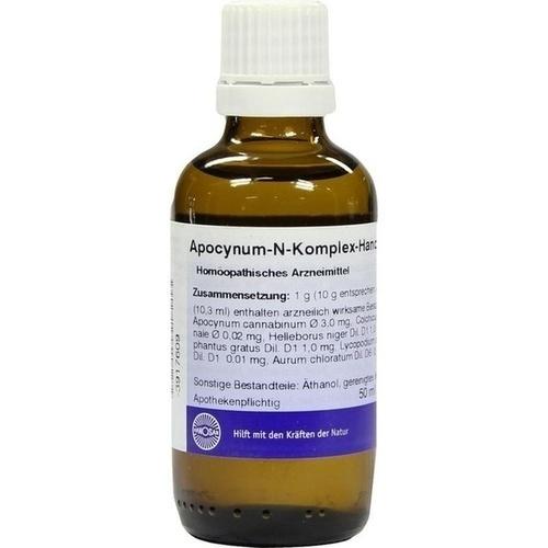 APOCYNUM N KOMPLEX HANOSAN, 50 ML, Hanosan GmbH