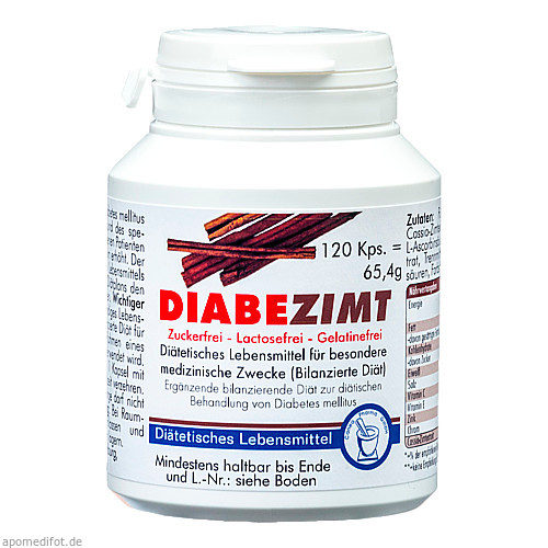 Diabezimt, 120 ST, Pharma Peter GmbH