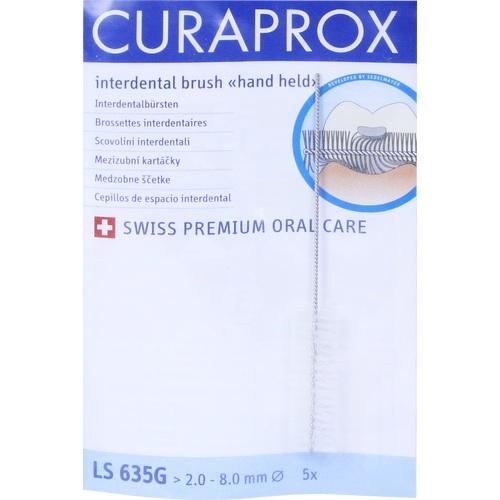 CURAPROX LS 635 G, 5 ST, Curaden Germany GmbH