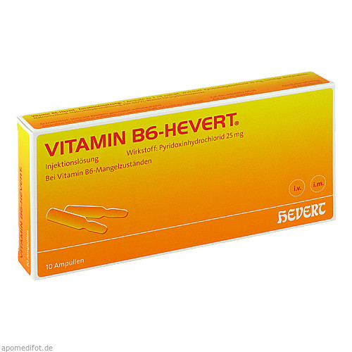 VITAMIN B6 HEVERT, 10X2 ML, Hevert Arzneimittel GmbH & Co. KG
