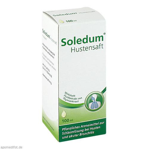 SOLEDUM HUSTENSAFT, 100 ML, MCM KLOSTERFRAU Vertr. GmbH