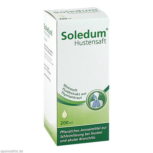 SOLEDUM HUSTENSAFT, 200 ML, MCM KLOSTERFRAU Vertr. GmbH