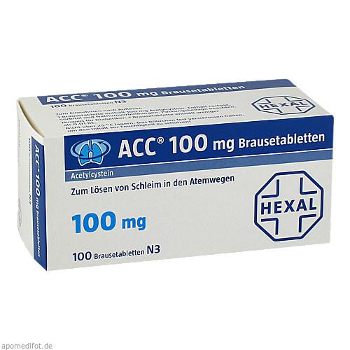 ACC 100 Brausetabletten, 100 ST, Hexal AG
