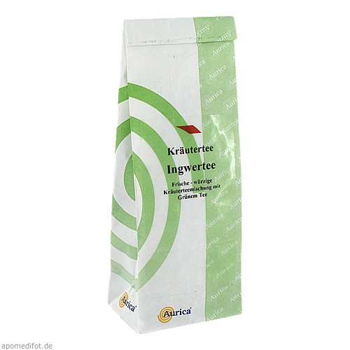 Ingwertee, 100 G, AURICA Naturheilmittel und Naturwaren GmbH