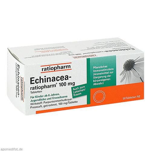 ECHINACEA-ratiopharm 100mg, 50 ST, ratiopharm GmbH
