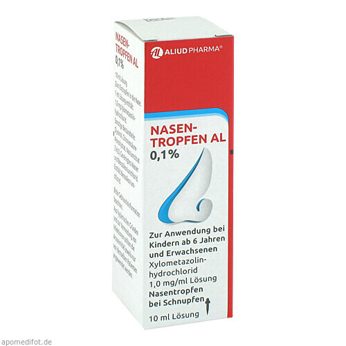 NASENTROPFEN AL 0.1%, 10 ML, Aliud Pharma GmbH