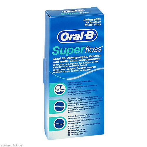 ORAL-B Zahnseide SuperFloss, 1 ST, Wick Pharma / Procter & Gamble GmbH