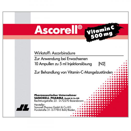 Ascorell, 10X5 ML, sanorell pharma GmbH & Co KG
