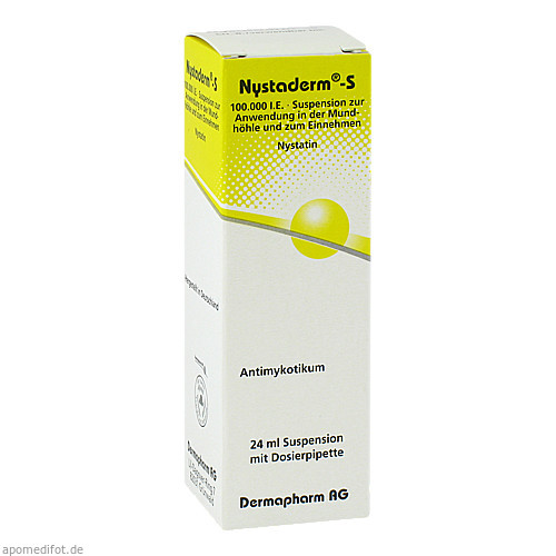 NYSTADERM S, 24 ML, Dermapharm AG