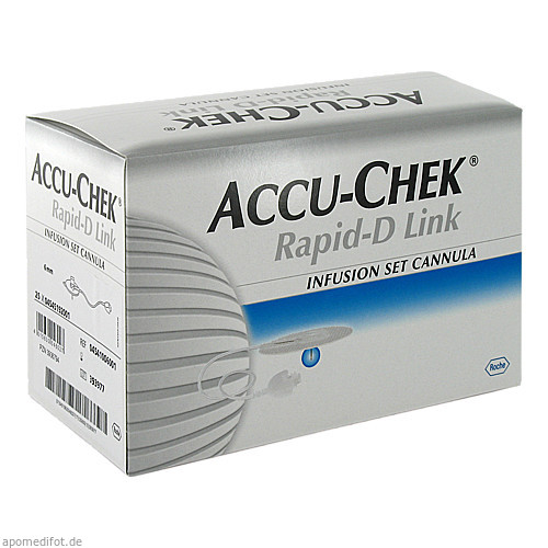 Accu-Chek Rapid-D Link Cannula 6, 25 ST, Roche Diabetes Care Deutschland GmbH