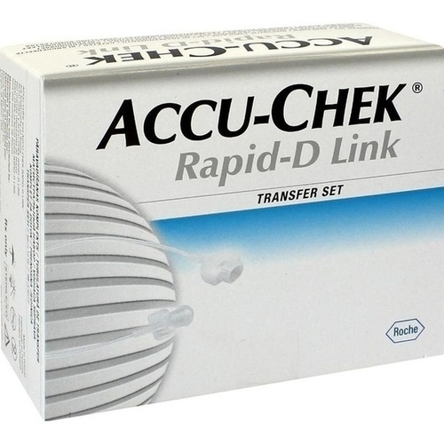 Accu-Chek Rapid-D Link Transfer Set 70, 10 ST, Roche Diabetes Care Deutschland GmbH