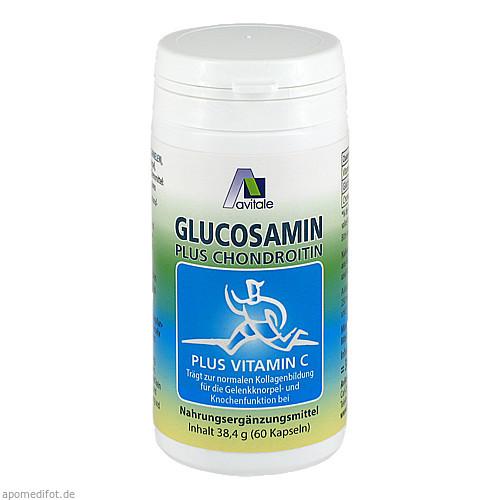 Glucosamin Chondroitin Kapseln, 60 ST, Avitale GmbH