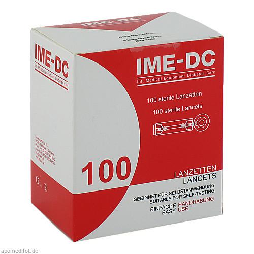IME-DC Lancetten/Nadeln für Stechhilfegerät, 100 ST, Ime-Dc GmbH