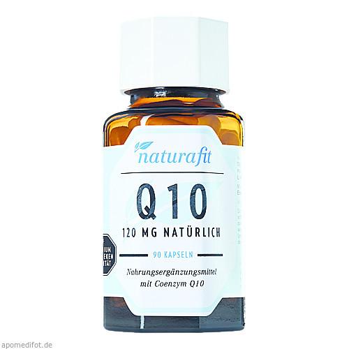 naturafit Q 10 120mg, 90 ST, Naturafit GmbH