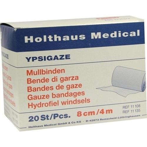 MULLBINDE DIN 8CMX4M, 20 ST, Holthaus Medical GmbH & Co. KG