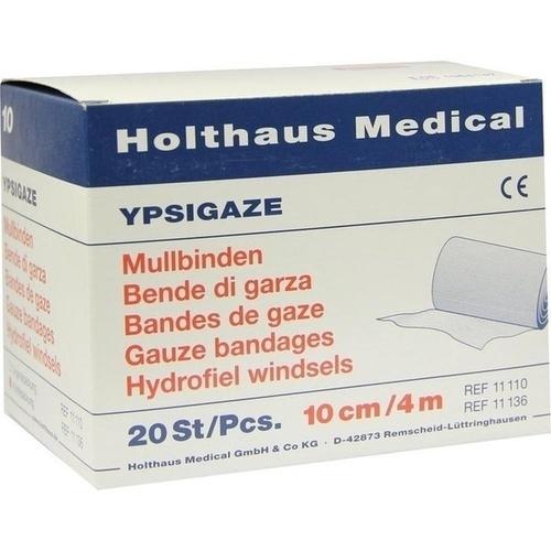 MULLBINDE DIN 10CMX4M, 20 ST, Holthaus Medical GmbH & Co. KG