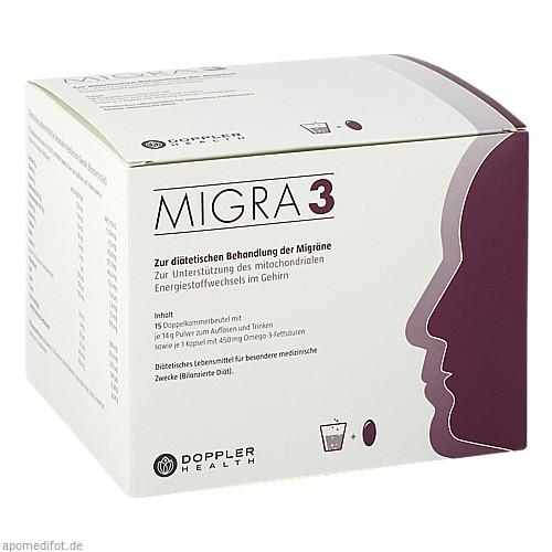 Migra 3-15 Doppelkammerbeutel (Pulver/Kapsel), 1 P, Doppler Health GmbH