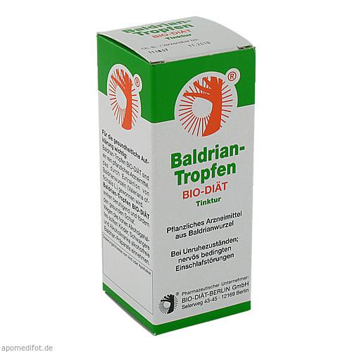 Baldrian-Tropfen BIO-DIÄT, 50 ML, Bio-Diaet-Berlin GmbH